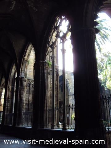 Cloisters Barcelona Cathedral