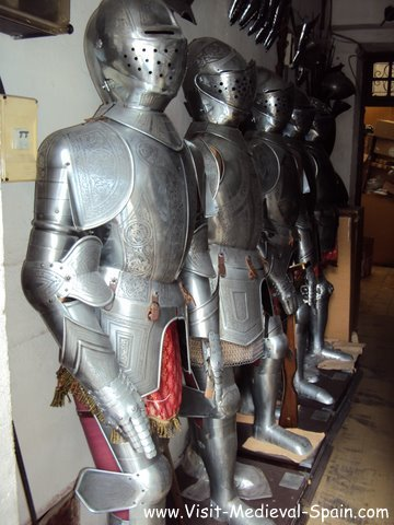 Suits of Armor for sale in Toledo Spain