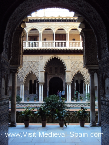 The Royal Alcazar Palaces Spain