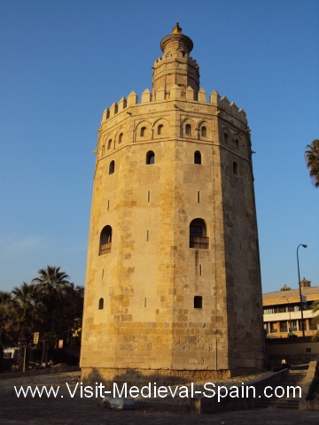 Photo of the Torre del Orro Seville, Andalusia, Spain