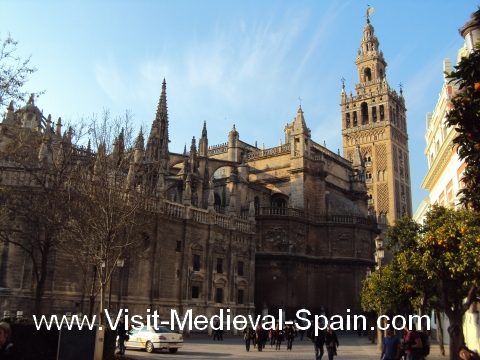 The Gothic Cathedral of Seville, Spain