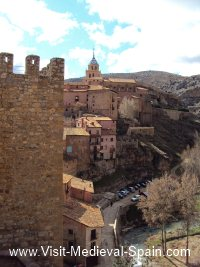 Panoramic photo Albarracin